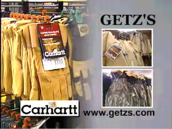 Carhartt TV Promotion