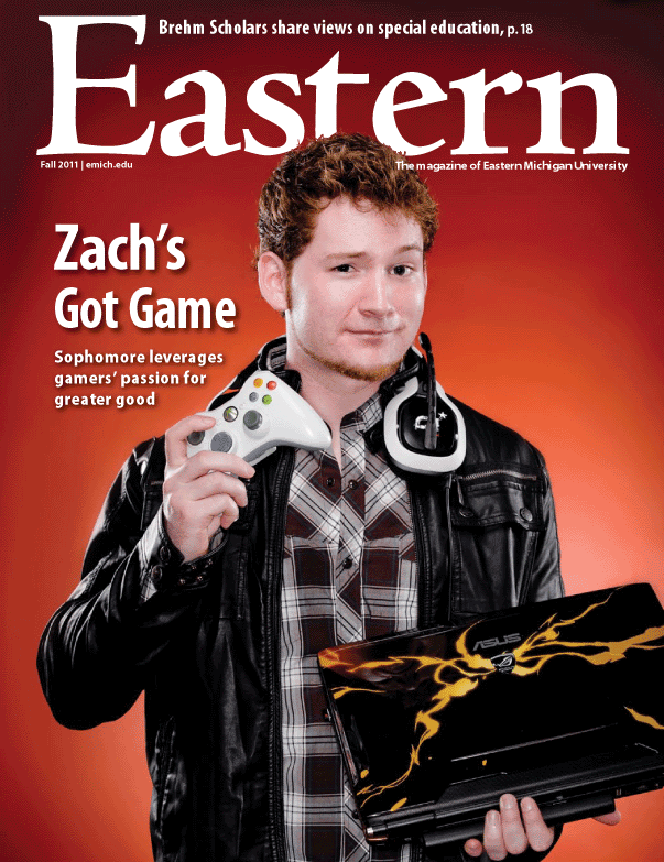 """Eastern Michigan Magazine"" Fall 2011"