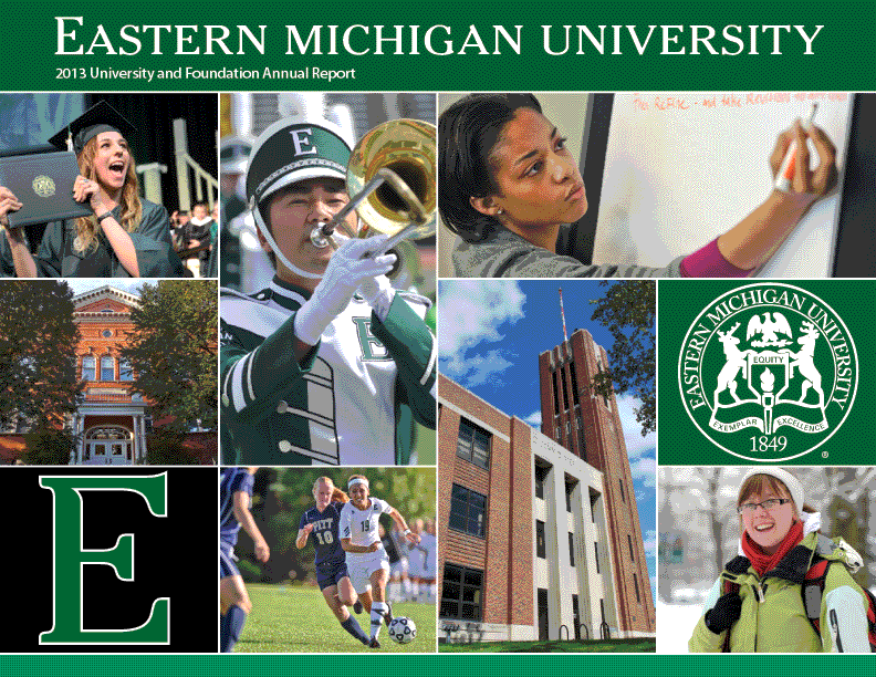 Eastern Michigan University 2013 Annual Report