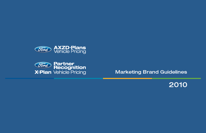 Ford Motor Company AXZD-Plans And Partner Plan Branding