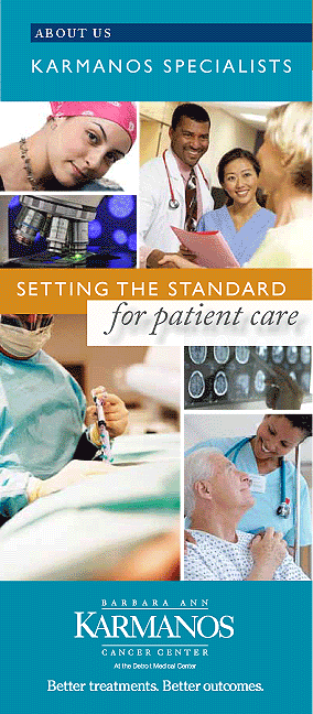 Karmanos Cancer Center Brochure