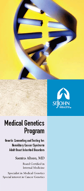 St. John Health Medical Genetics Program Brochure