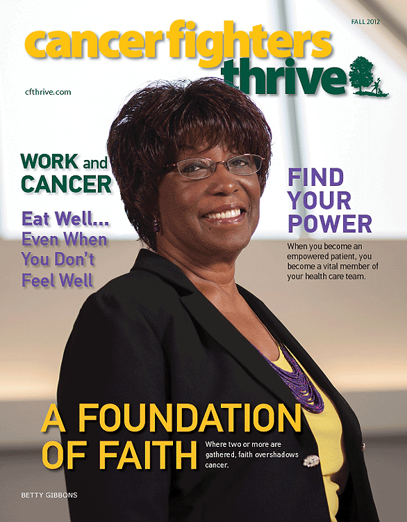 "Cancer Treatment Centers Of America, ""Cancer Fighters Thrive"" Fall 2012"