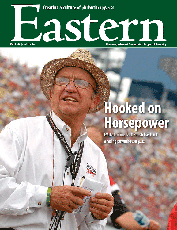 """Eastern Michigan Magazine"" Fall 2010"
