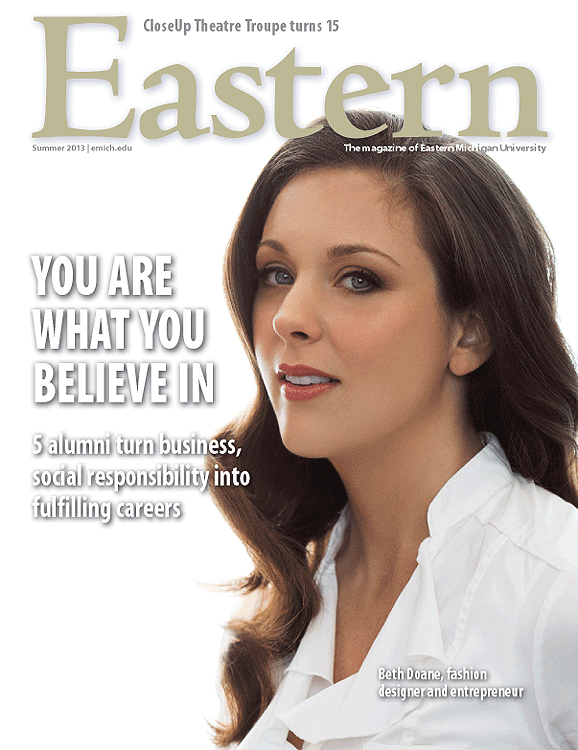 """Eastern Michigan Magazine"" Summer 2013"