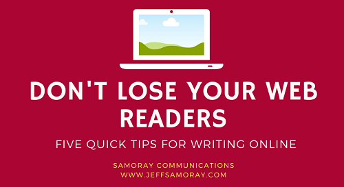 Five Ways To Keep Your Web Readers From Leaving