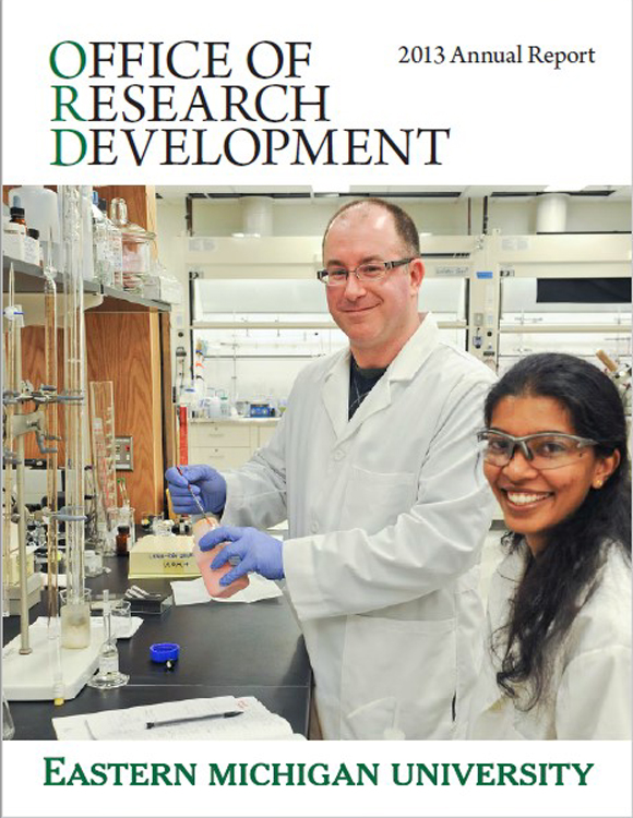 Eastern Michigan University Office Of Research Development 2013 Annual Report